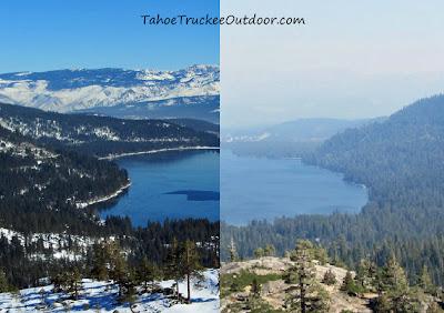 Check smoke and air quality before you visit Lake Tahoe