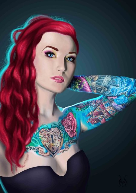 marta gonzález villena ilustrações pin-ups bad girls mulheres