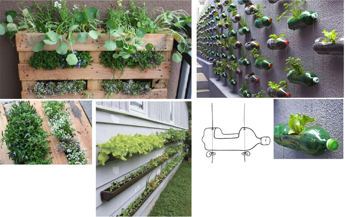 Costruire naturale nil 28 fuorisalone orti urbani - Giardini in bottiglia ...