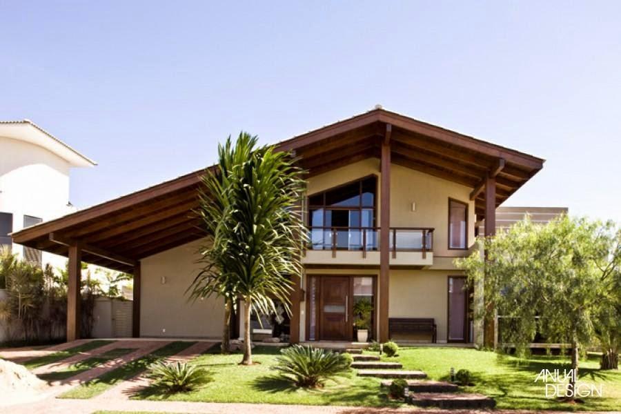 Arquitetando meus sonhos fachadas de casas de campo for Casas de campo hermosas