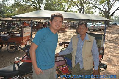 Mr. Sokhom Angkor tuktuk driver