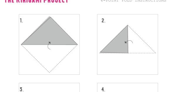 4-Point Folding Pattern