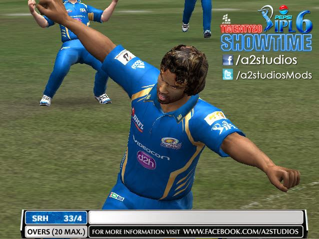 A2 Studios Pepsi IPL 6 T20 Show time Patch
