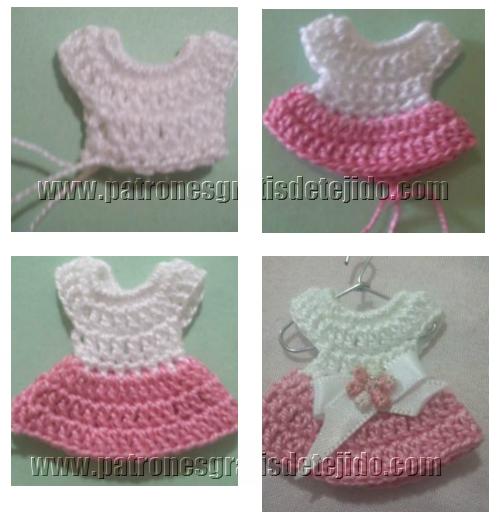 Clase de tejido gratis paso a paso souvenires crochet