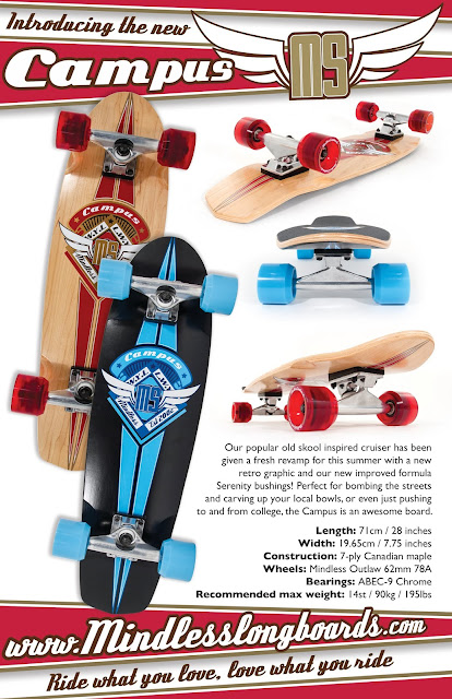 Mindless Campus 2013 Mini Cruiser