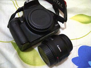 lensa fix untuk Canon 500D