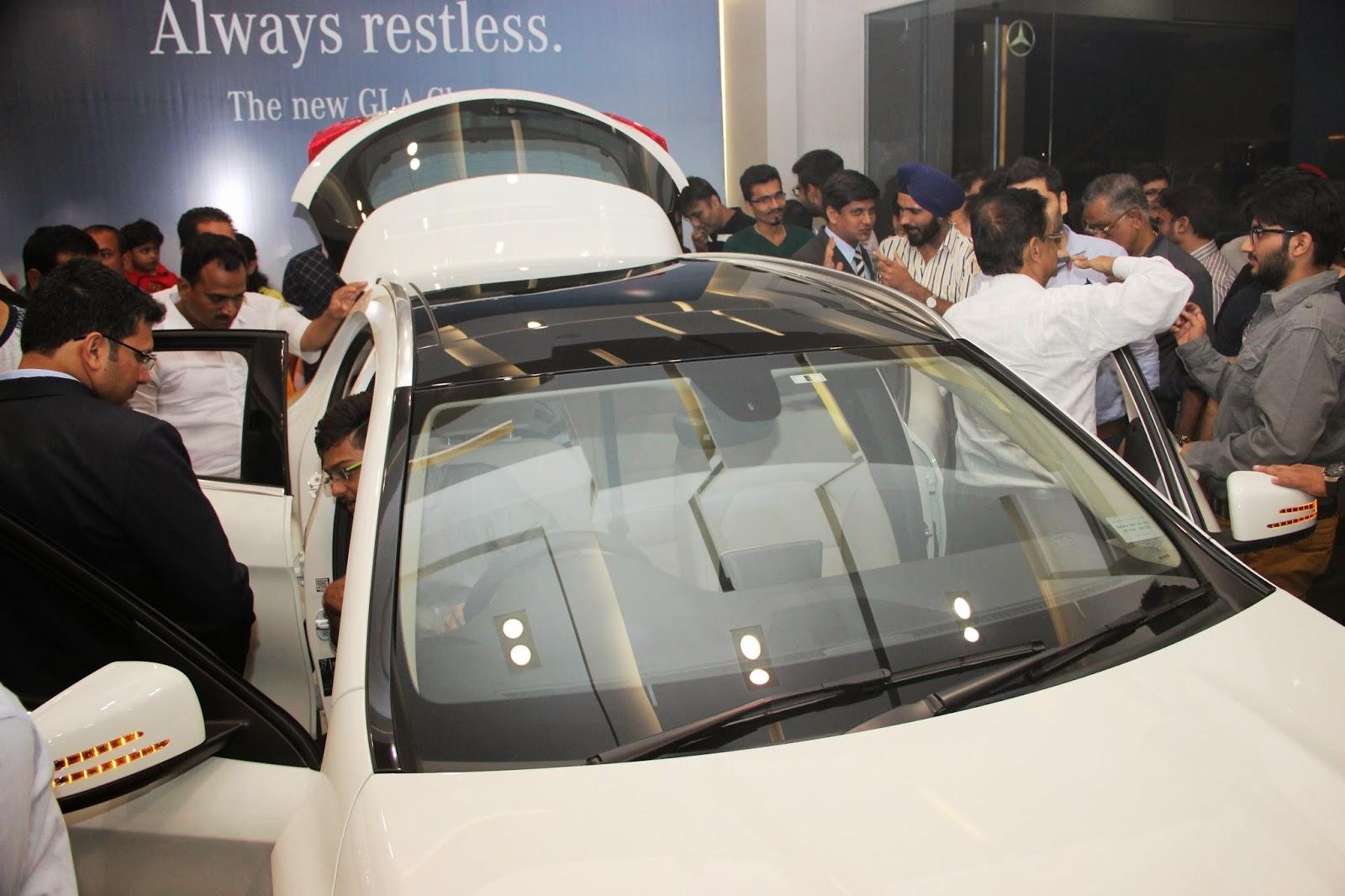 Mercedes Benz GLA-Class Preview Launch at Shaman Wheels,Kalina