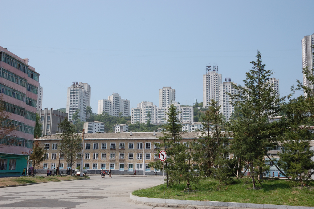 Vivienda en un Estado socialista Wonsan+14