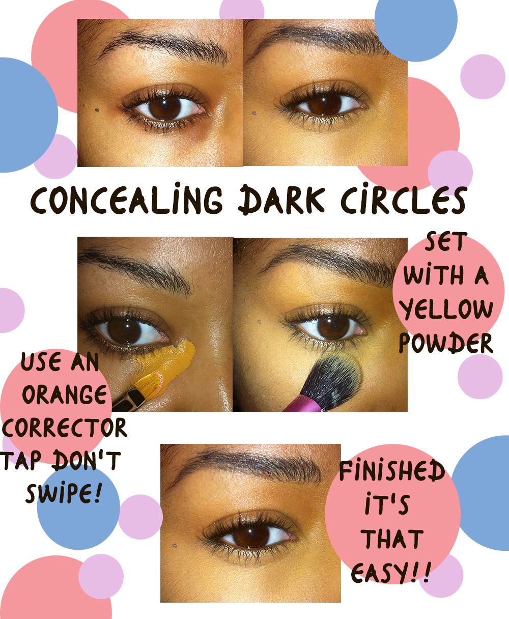 Color correct your dark circles!