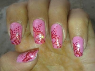 pretty nails design by pari sangha