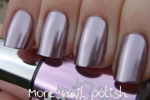 Iron Pink Light Metallic Chrome