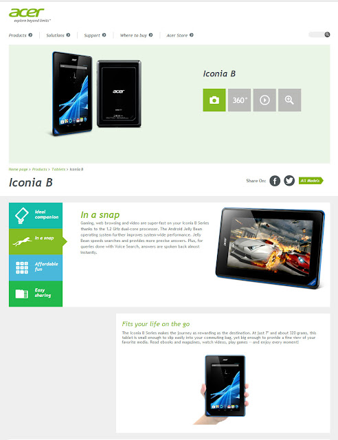 Acer Iconia B1-A71 a $99 Nexus competitor tablet 2
