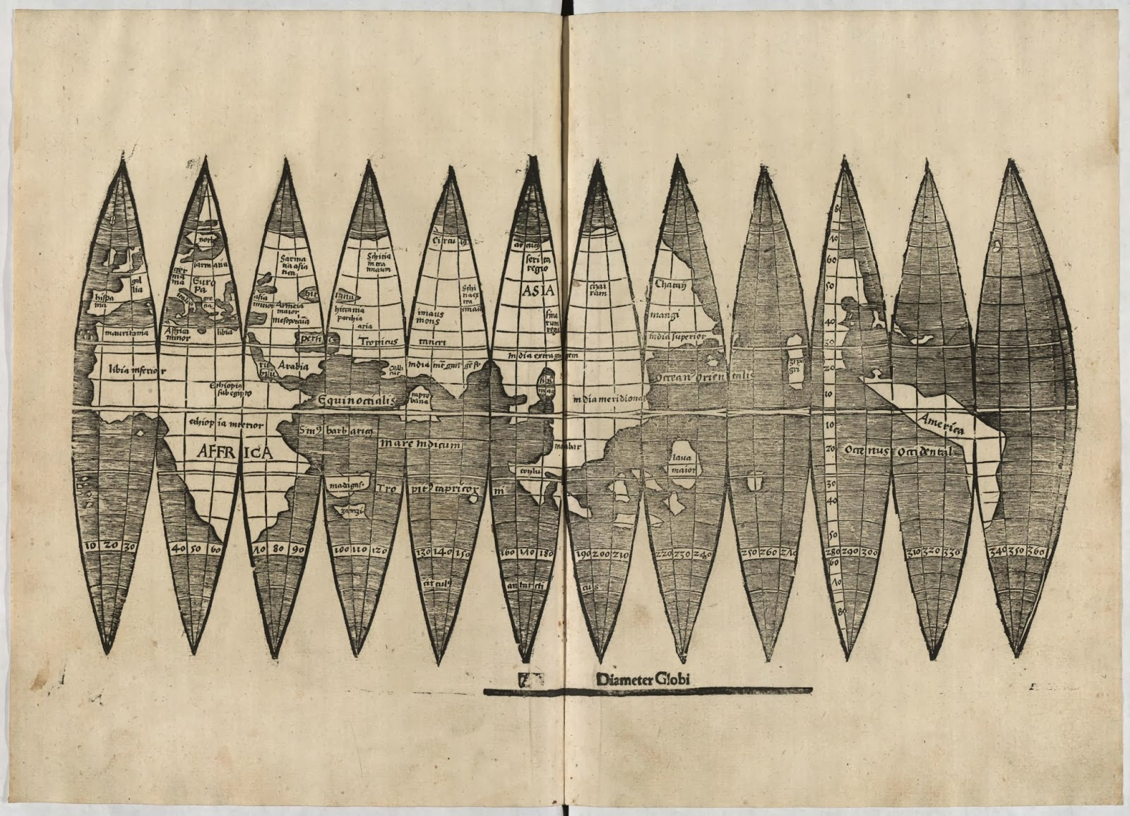 Ancient world maps january 2014 world map 16th century gumiabroncs Images