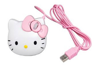 Hello Kitty computer mouse