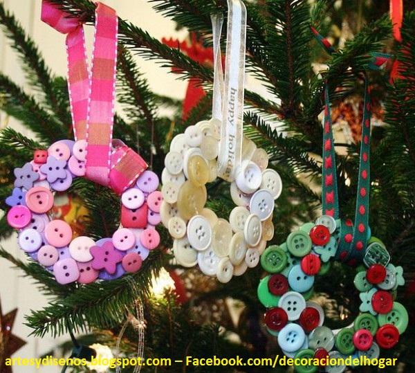 Como hacer adornos navide os caseros - Adornos de navidad caseros faciles ...