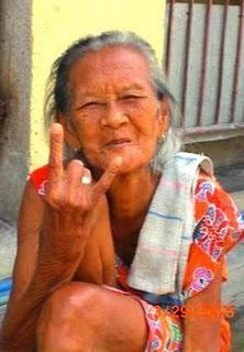 Nenek Gaul Foto Lucu Para Nenek Gaul