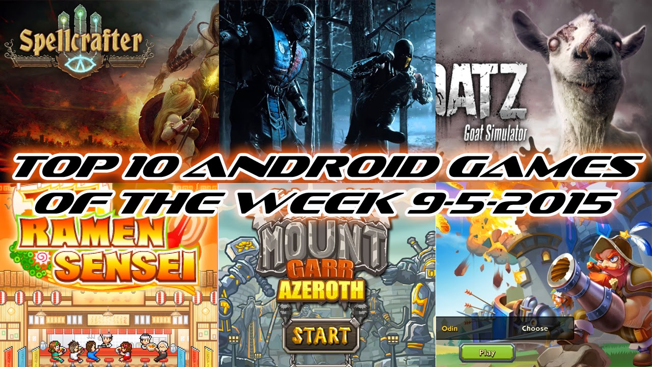 TOP 10 BEST NEW ANDROID GAMES OF THE WEEK - 9th May 2015