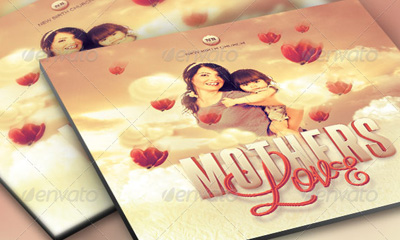 Mothers Love Flyer and CD Template