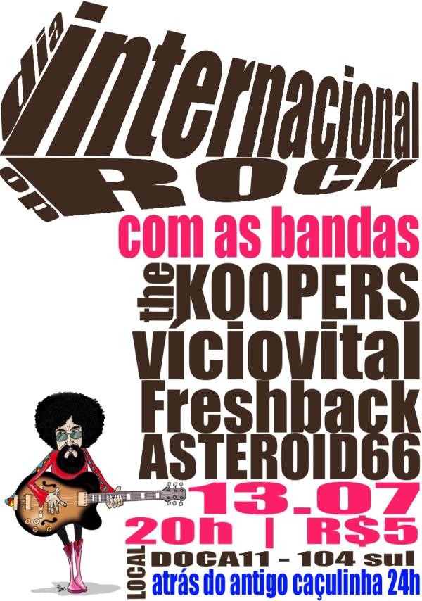 Comemore o dia mundial do rock no DOCA 11!!!