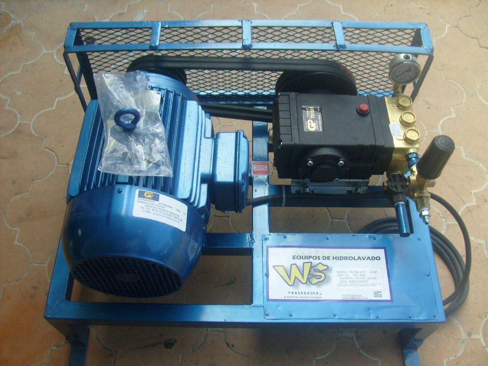 Equipos y servicios tecnicos windstar hidrolavadora 10 hp for Motor de presion de agua
