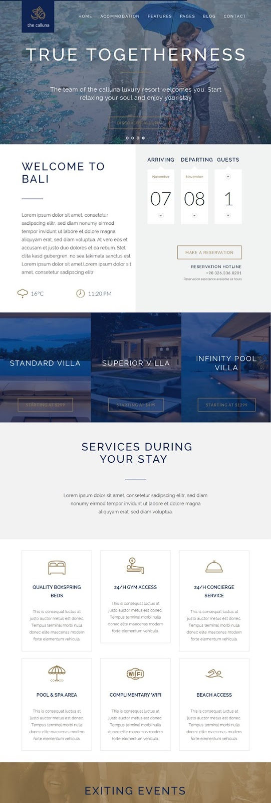Best Responsive WordPress Theme For Hotel