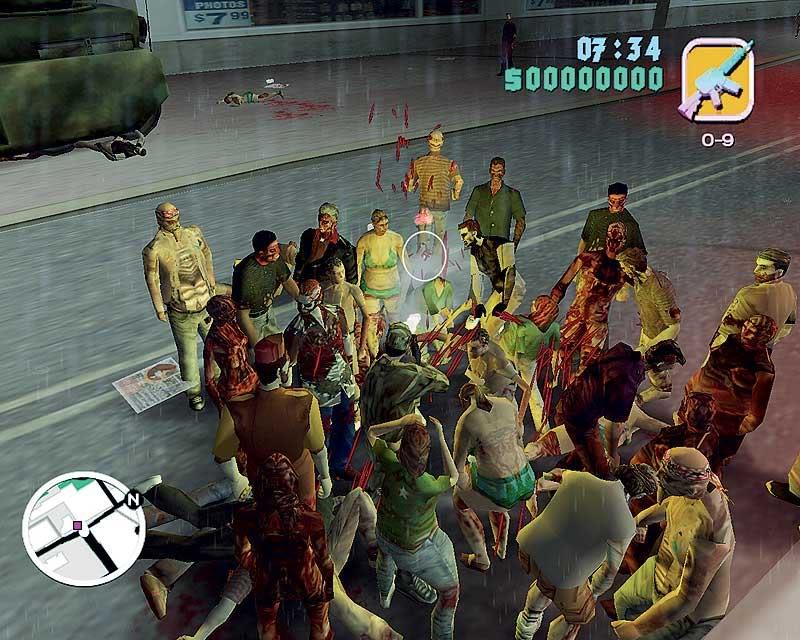 скачать моды на гта 4 на зомби апокалипсис с автоматической установкой - фото 6