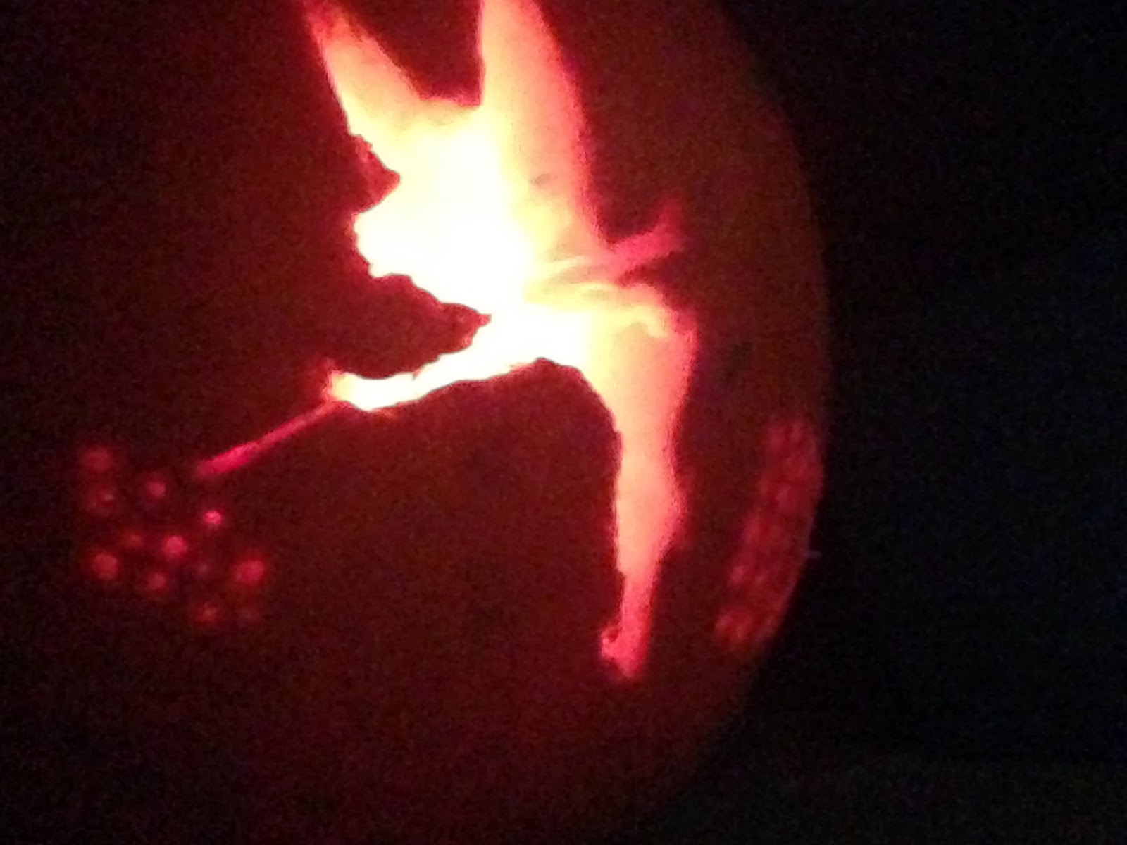 Halloween The Tinkerbell Pumpkin A Slice Of My Life Wales