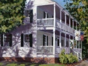 Buckman House circa 1848