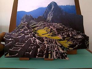 Anímate a hacer un Machu Pichu en 3D!