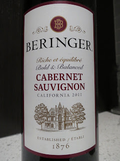 Label photo of 2011 Beringer California Collection Cabernet Sauvignon