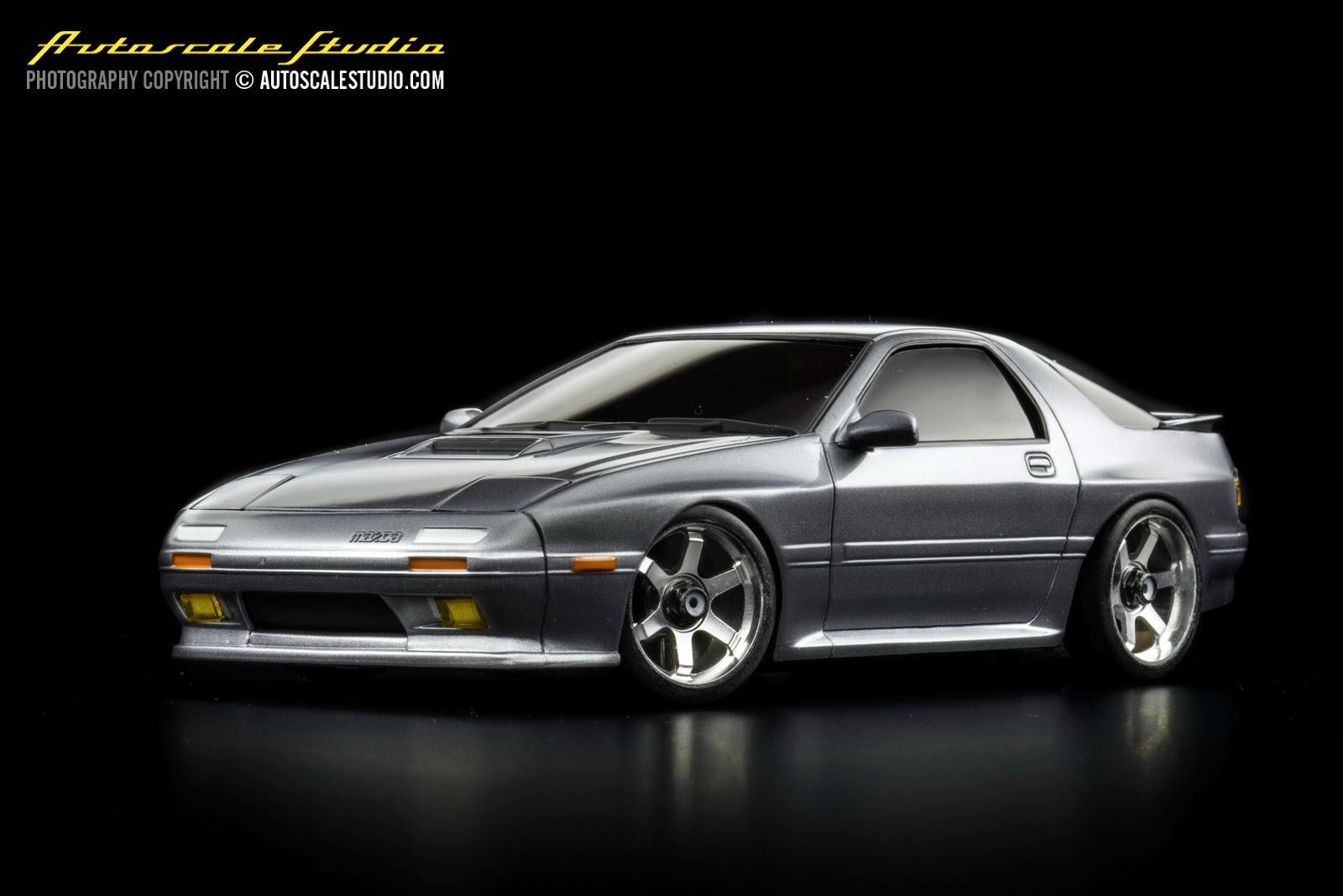 Mzp17gm Mazda Rx 7 Fc3s Gun Metallic Autoscale Studio オートスケール・スタジオ