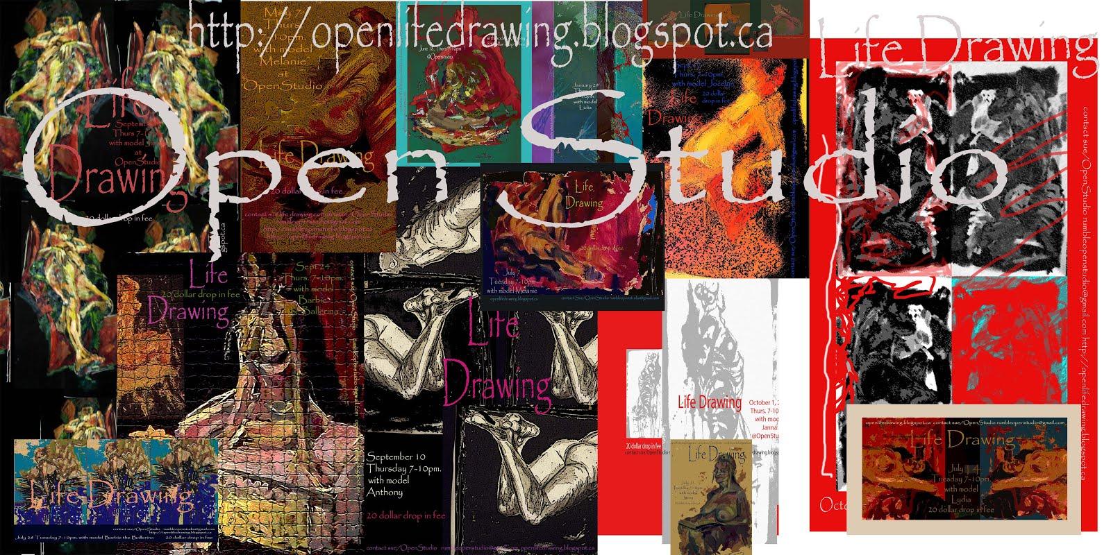 OpenStudio Life Drawing