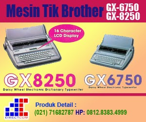 Brother GX8250 dan GX 6750