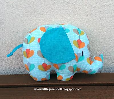 Elefante Softie Retro Mama