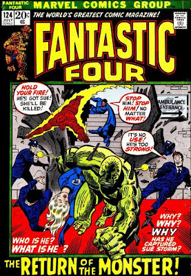 Fantastic Four #121, Creature From The Black Lagoon