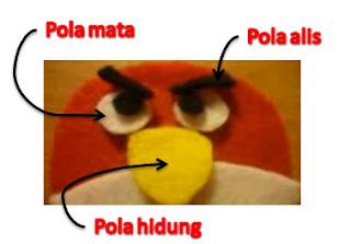 Gantungan kunci angry bird