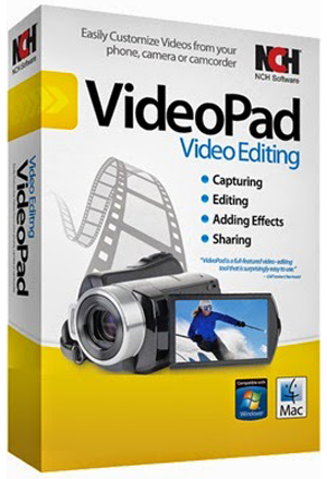 NCH ​​VideoPad Video Editor Professional 3:57