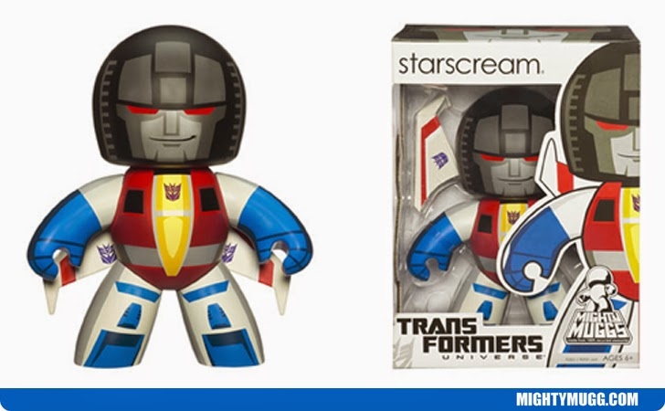 Starscream Transformers Mighty Muggs Wave 2