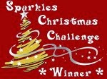 Ik was random winnaar bij Sparkles Christmas Challenge