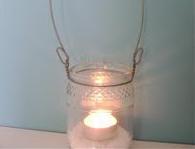Luminária com Potinho de Conserva