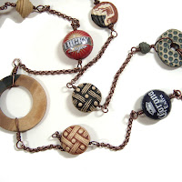 Bottle Cap necklace Wrap