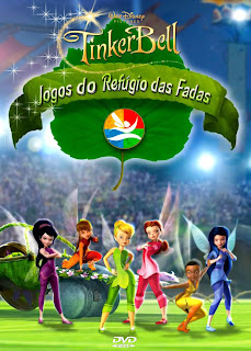 Tinker Bell: Jogos do Refgio das Fadas - DVDRip Dublado