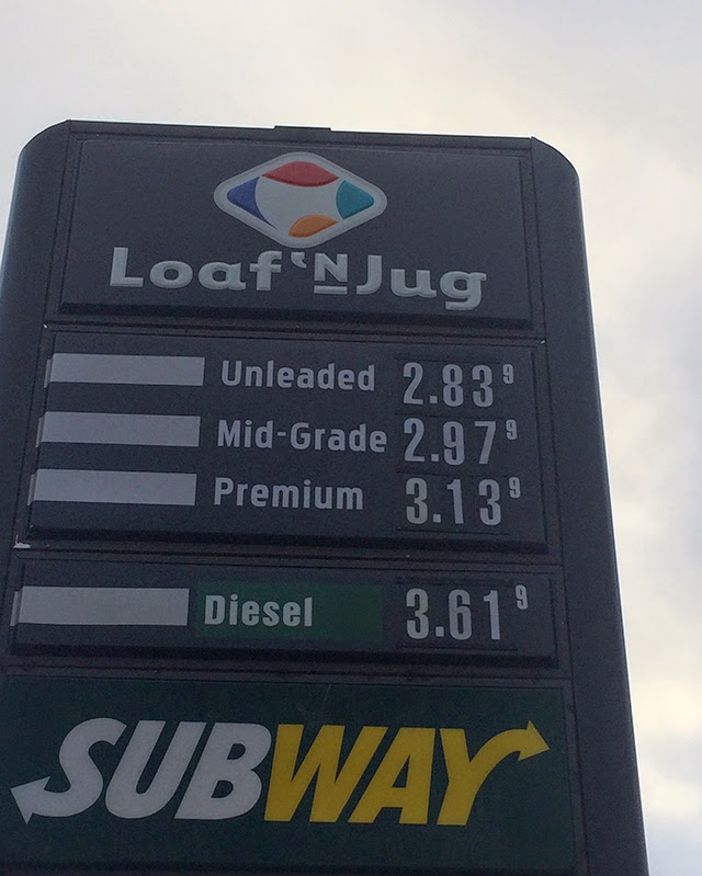 gas prices improve