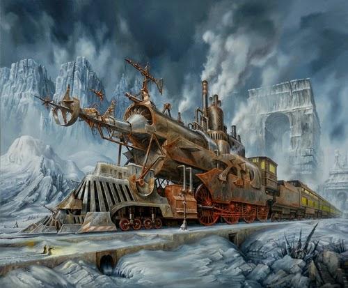 03-Jarosław-Jaśnikowski-Surreal-Paintings-of-Fantastic-Realism-www-designstack-co