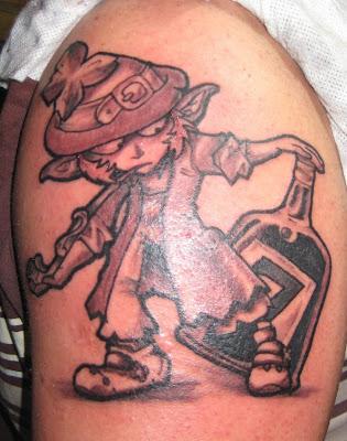 Pin elf fairy gnome leprechaun troll evil tattoo designs for Garden gnome tattoo designs