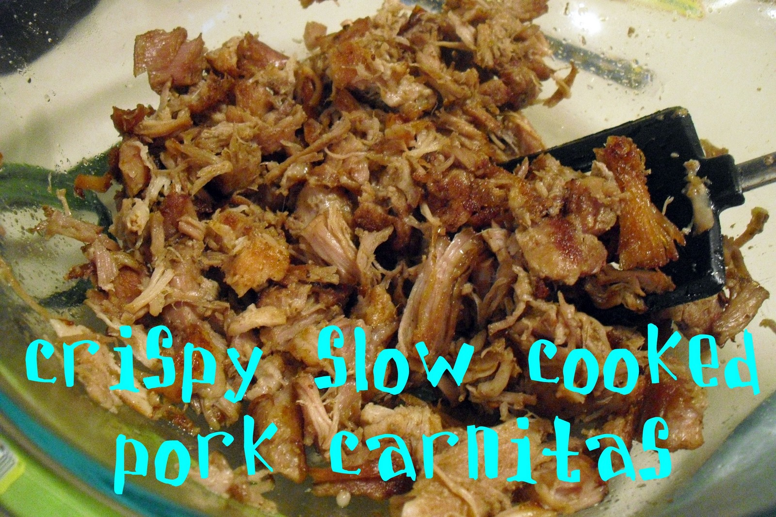 Attack of the Hungry Monster: Crockpot Pork Carnitas (Tacos)