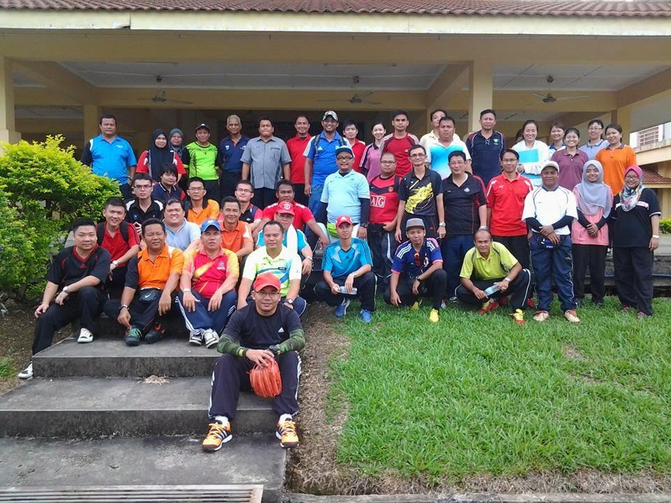 Peserta Kursus Modul Sofbol 1M1S Peringkat Sibu 2014