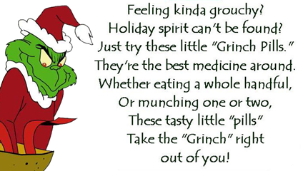 photograph regarding Grinch Pills Free Printable titled Grinch Capsules and Santa Cookie Toppers Crank out Year towards Craft