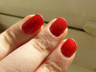 Nails Inc. polish in Big Red Apple