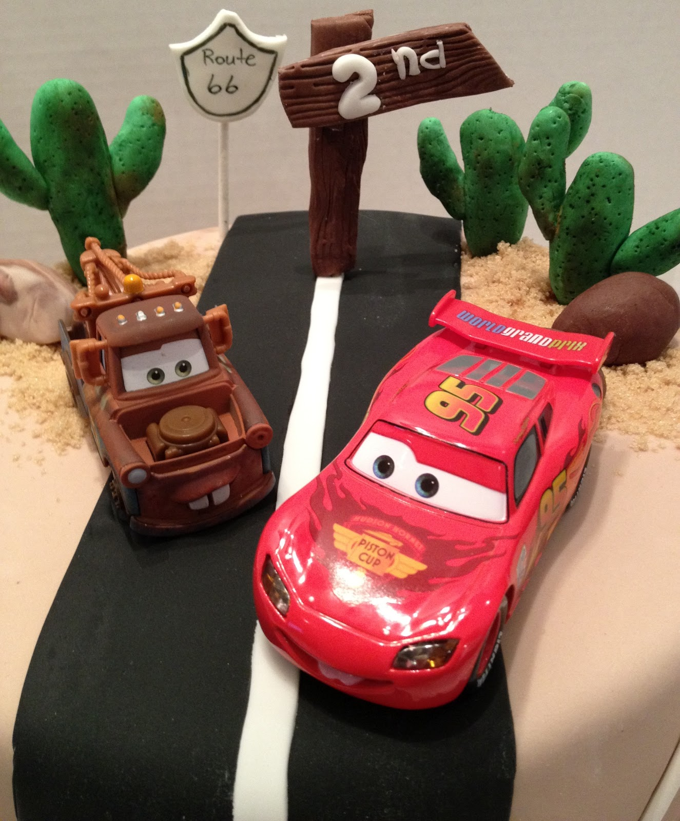 MaryMel Cakes Cars Theme Birthday